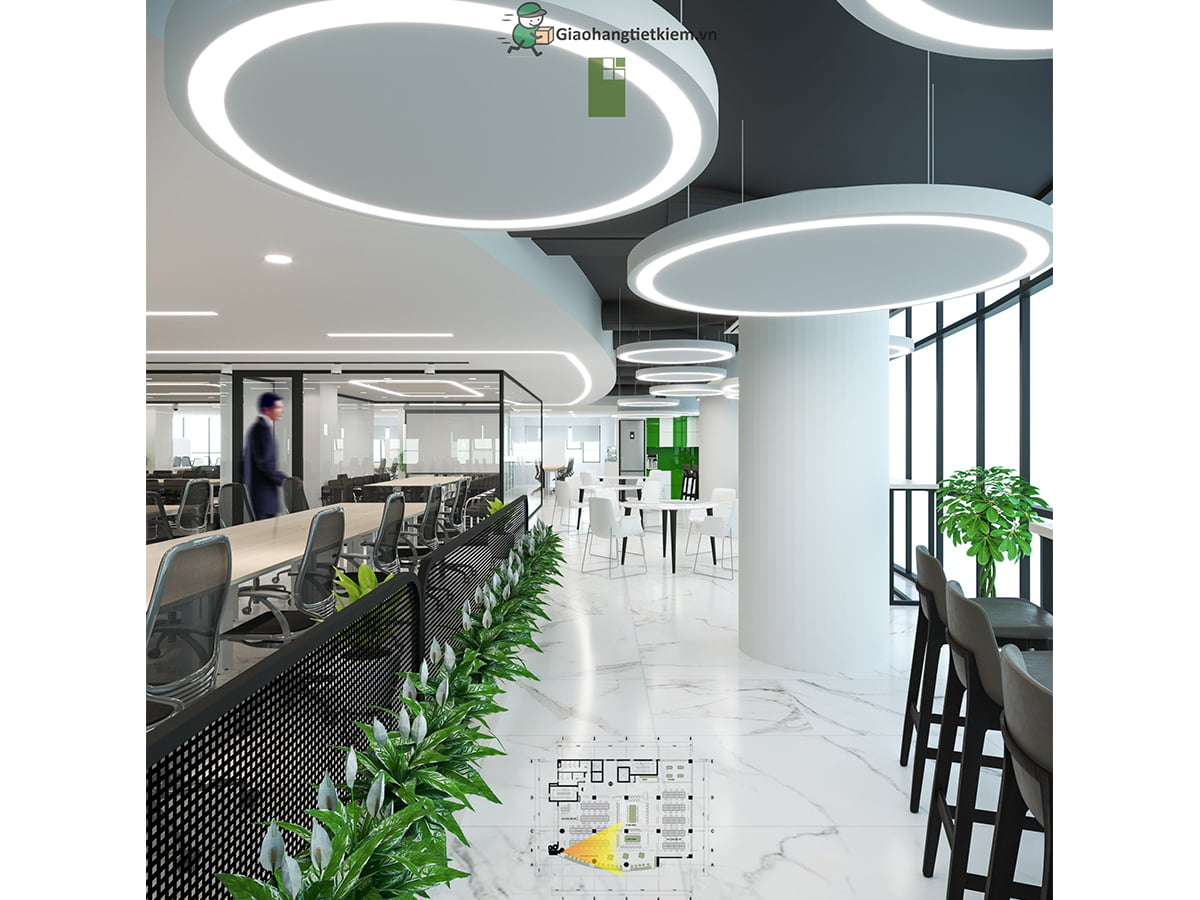 Tầng 7 Office trụ sở Giao Hàng Tiết Kiệm