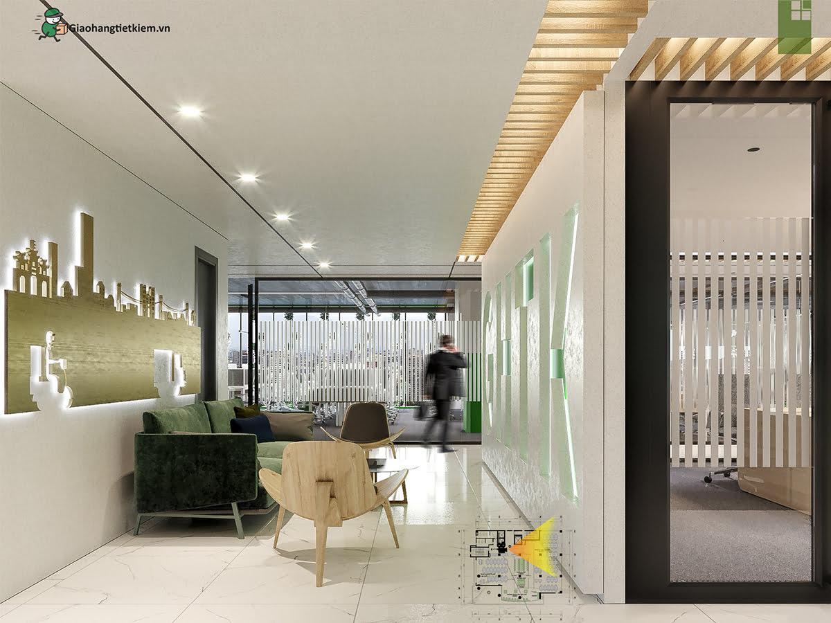 Tầng 4 Office trụ sở Giao Hàng Tiết Kiệm