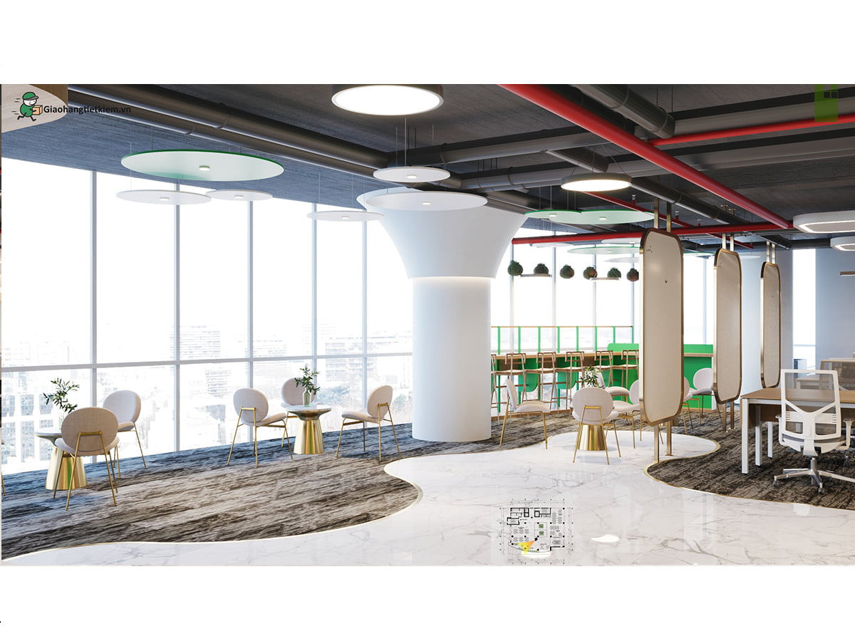 Tầng 6 Office trụ sở Giao Hàng Tiết Kiệm