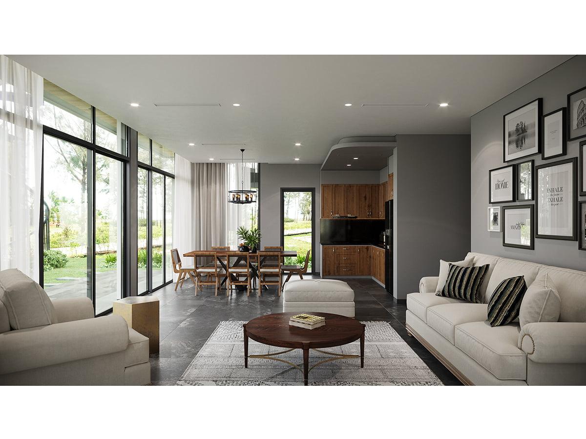 Biệt thự 1 tầng - Long Beach Luxury