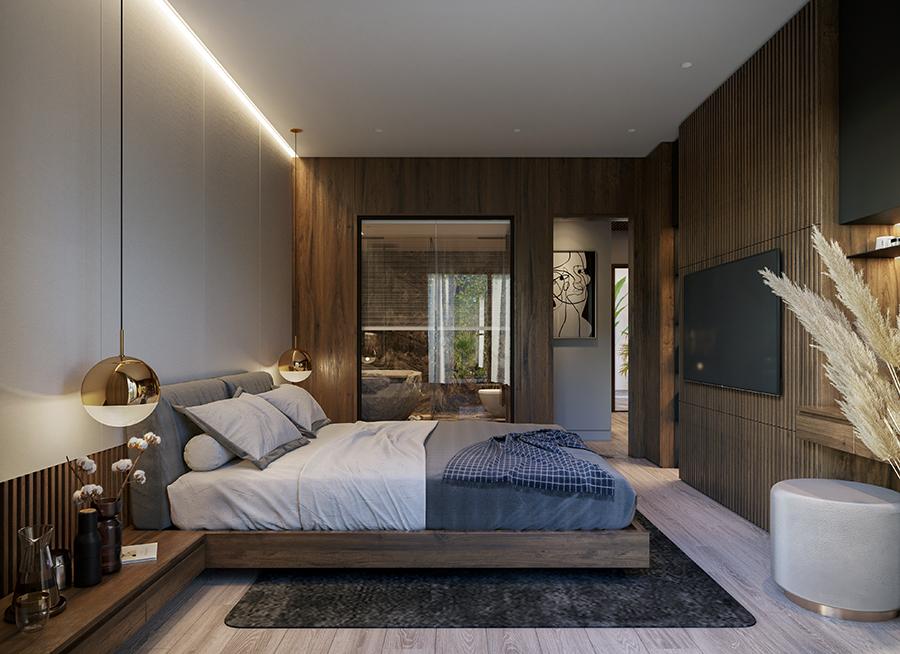 phòng ngủ dự án hapulico